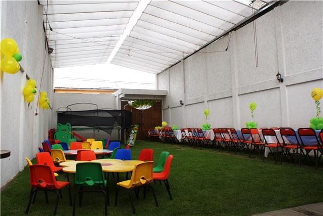Moshi jard n de eventos infantiles en nezahualc yotl m xico for Jardines pequenos para eventos df